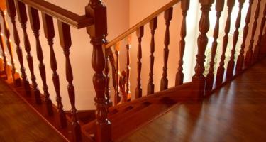 фото деревянные лестницы в частном доме