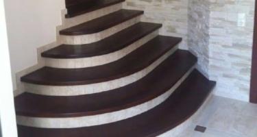 фото после обшивки лестницы деревом Краснодар