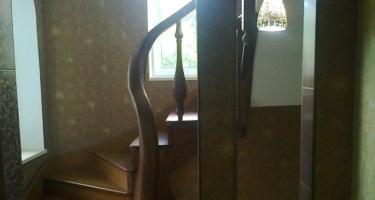 фото изготовления лестницы в частный дом