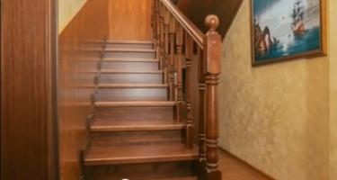 фото отделки лестницы из металла в Краснодаре