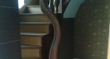 фото строительства лестниц в частном доме