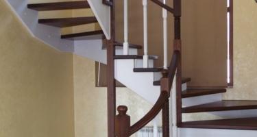 фото типов лестниц в частном доме