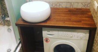 деревянная столешница в ванную под раковину купить в Краснодаре