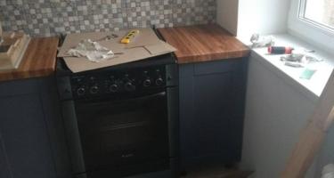 столешница из дуба для кухни