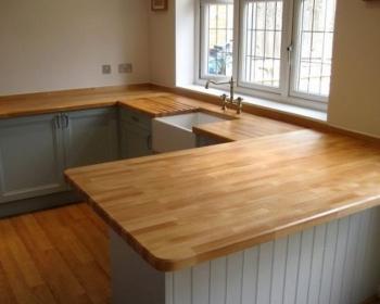 столешница деревянная кухонная сращенная