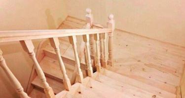 Фото деревянных лестниц с площадкой