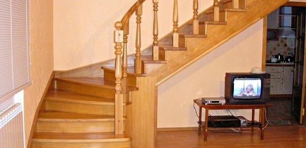 лестница для дома на второй этаж недорого в Краснодаре