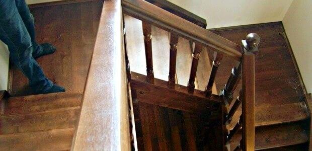 заказать лестницу в дом на второй этаж в Краснодаре