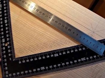 замер и расчет одномаршевой деревянной лестницы в Краснодаре