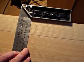 замер и расчет прямой деревянной лестницы