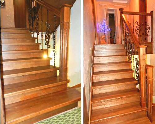 сколько стоит установка деревянной лестницы в Краснодаре