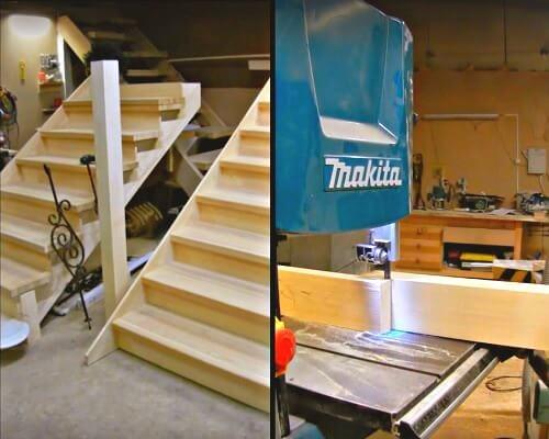 установка деревянных лестниц цена в Краснодаре