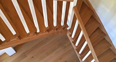 деревянная забежная лестница цена