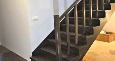Купить деревянные ступени для лестницы в Краснодаре