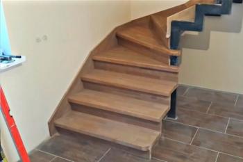 Лестницы из бука на заказ