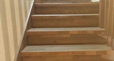 Ступени для лестницы из бука