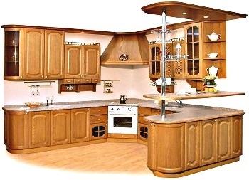 Кухни из массива дерева в Краснодаре
