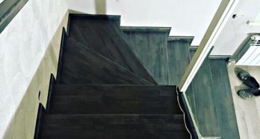 купить лестницу из ясеня в Краснодаре